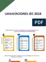 Orientaciones Inglés 2018