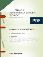 OGANIZACION Y ADMINISTRACION DE SOPORTE TECNICO.pptx
