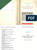 Aurich, Peter - Der Deutsch-Polnische September 1939