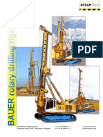 Bauer_rotary Drilling Rigs