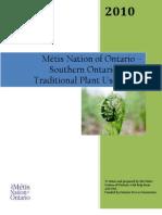 Metis Plant Use Study