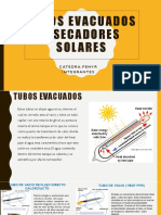 Tubos Evacuados y Secadores Solares