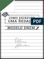 COMO ESCREVER UMA REDAÇÃO MODELO ENEM.pdf