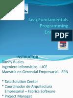 Java Fundamentals Enero 2018