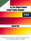 triple jumper