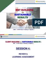 CBSR - Review&LearningAssessment