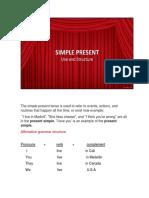 Simple Present Presentation