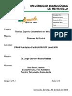 PRA3.3 Arduino-Control on-OfF Con LM35