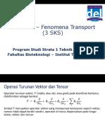 (1.3) BPS3101-Fenomena Transport-Notasi Vektor Dan Tensor