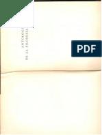 Antología de La Filosofía Griega