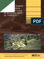 Manual de Diseño Decarreteras No Pavimentadas de Bajo Volumen de Transito 2008