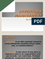 ABHIJEET ALTE- Inventory Management