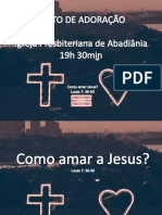 COmo Amar Jesus