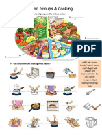 Food - Cooking Verbs - Quantities