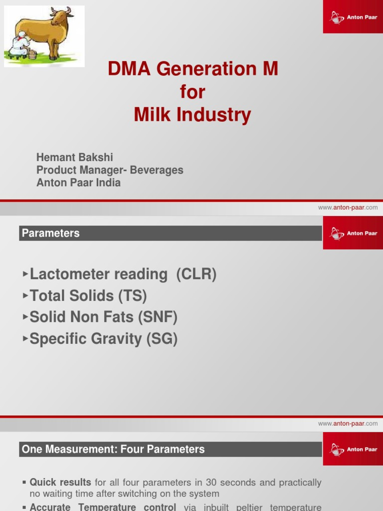 Lab-Presentation & Reference List- Milk | Dairy | Nature