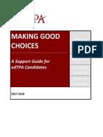 making good choices 17 - 18