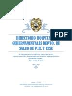 Directorio Hospitales Gubernamentales Depto Salud y Cfse 1(a)