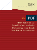 NISM Series III a SIC NF Certification Examination Jan 2016 FINAL