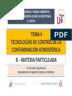 Tema 6. Tecnologías de Control de La Contaminación Atmosférica - B (1) (1)
