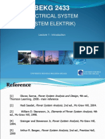 L1 BEKG2433 Power System