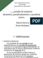generadordenmerosaleatoriospseudoaleatorioscuasialeatoricos-110215194209-phpapp01