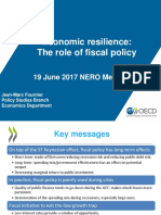 OECD NERO June 2017 Economic Resilience the Role of Fiscal Policy