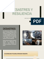 Desastres y Resiliencia