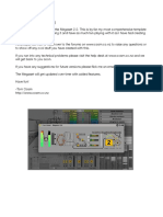 Tom Cosm - Megaset 2.0.1 User Manual