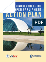 Monitoring Report of 2017 Open Parliament Action Plan