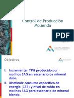 Control de Producción SAG Pruebas Preliminares Rev7