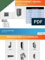 Ericsson RBS2216 1800Mhz