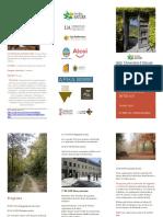 CEMA Font Roja. Jornada Buenas Prácticas Ambientales en Alojamientos Turísticos de Interior. Abril 2018