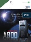 Catalog of Inverter A800