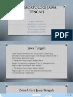 Geomorfologi Jawa Tengah