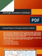 Geologi Sumatera Selatan