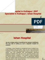 ENT Hospital in Kolhapur   ENT Specialist in Kolhapur   Ishan Hospital