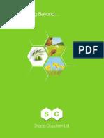 Sharda Agrochemical Brochure