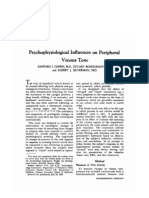 Psycho Physiological Influences on Peripheral Xx