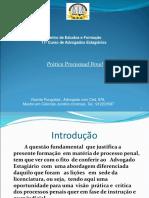 Práticas processuais OAA2