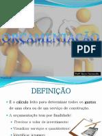 Aula - Orçamentação.pdf