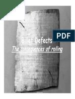 Billet Defects