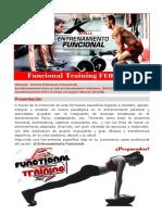 Formación Funcional Training FEDA Sevilla 2018