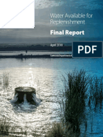 Water Available for Replenishment - Final Report