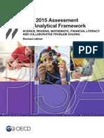Framework PISA 2015 Question