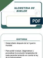 CEFALOMETRIA DE BIMLER.ppt