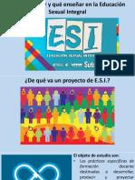 01 Presentación - Cómo Enseñar y Qué Enseñar en La ESI