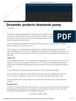 Desander Protects Downhole Pump - Oil & Gas Journal
