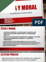 Ética y Moral Diapositivas