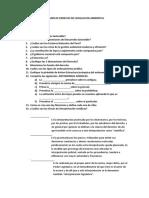 Examen de Derecho de Legislacion Ambiental