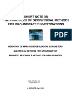 Groundwater n Geophysics